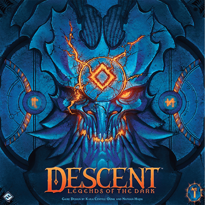 Descent: Legends of the Dark (edycja angielska)