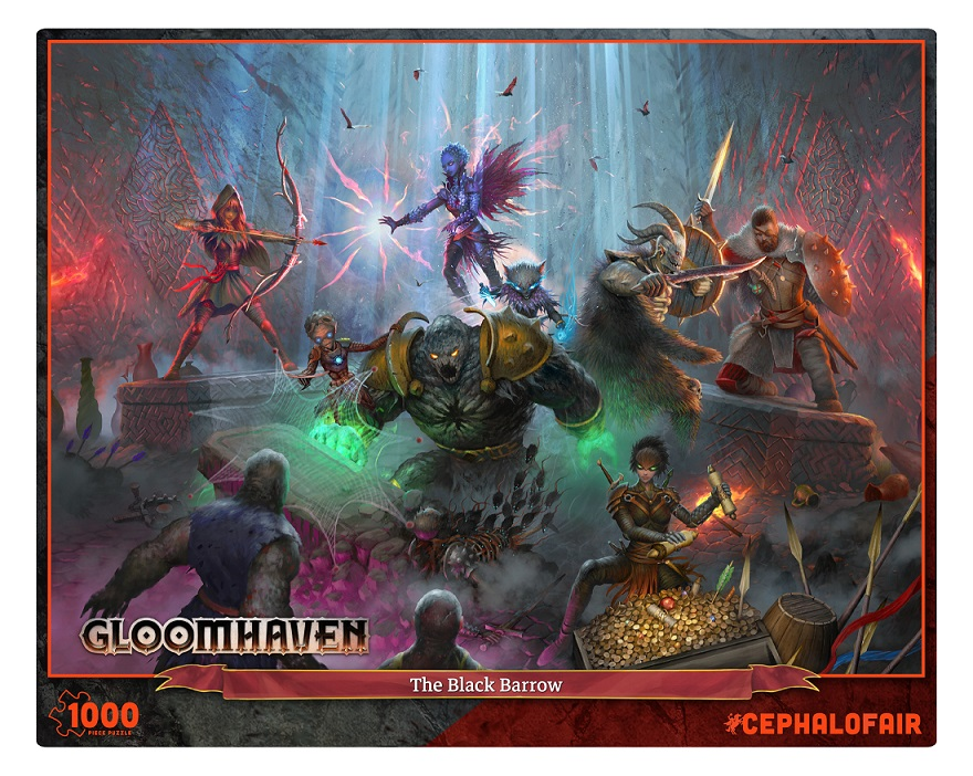 Gloomhaven Puzzle - The Black Barrow (1000)