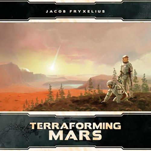 Terraforming Mars 3D Terrain Box