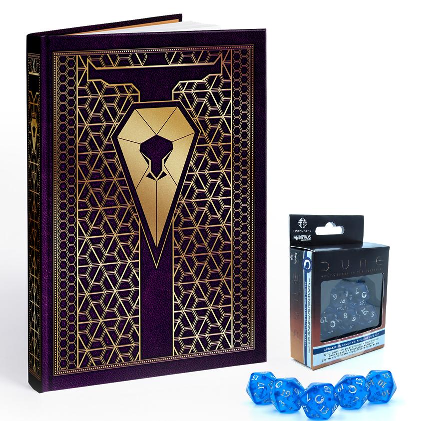 Diuna: Przygody w Imperium - Zestaw gracza (Edycja Corrino)
