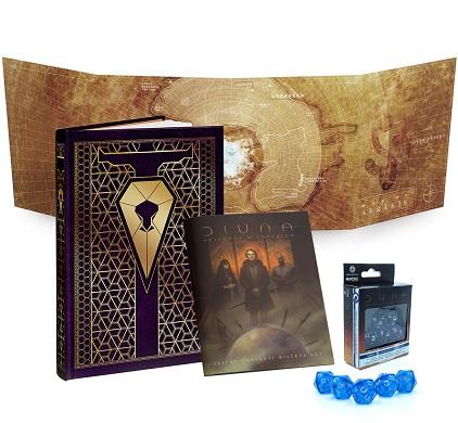 Diuna: Przygody w Imperium - Zestaw Mistrza Gry (Edycja Corrino)