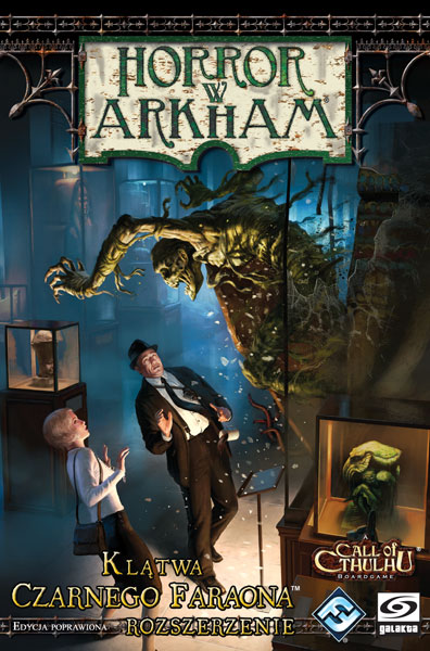 Horror w Arkham: Klątwa Czarnego Faraona (edycja poprawiona)