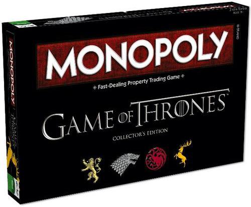 Monopoly: Gra o Tron (Edycja Kolekcjonerska)
