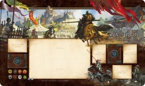 Gra o Tron LCG 2 edycja - Kwiat rycerstwa - Mata do gry