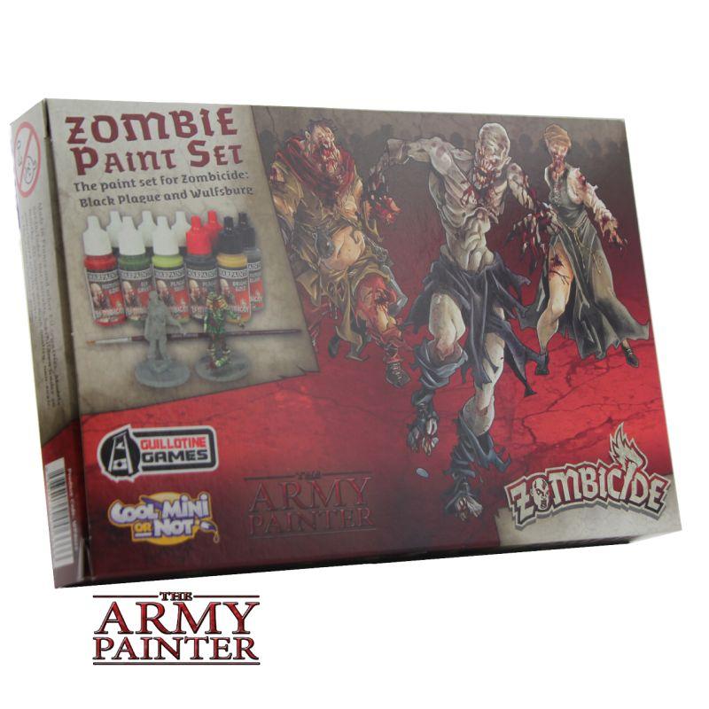 Zombicide: Black Plague Paint Set