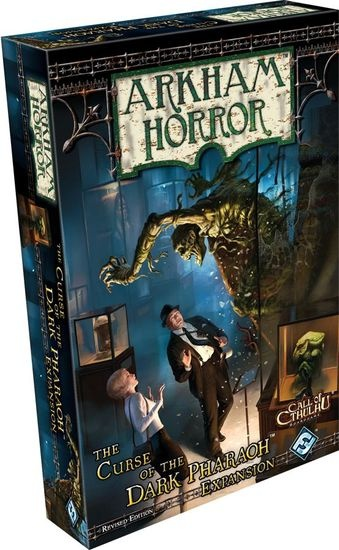 Arkham Horror: Curse of the Dark Pharaoh Revised Edition