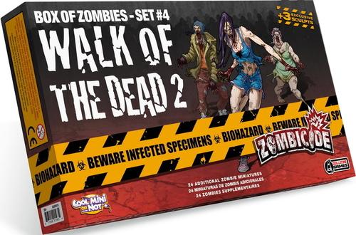 Box of Zombie Set #4 Walk of Dead 2