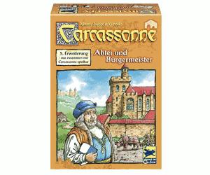 Carcassonne: Opactwa i burmistrzowie (edycja niemiecka)