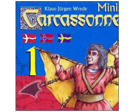 Carcassonne Mini 1 - edycja skandynawska