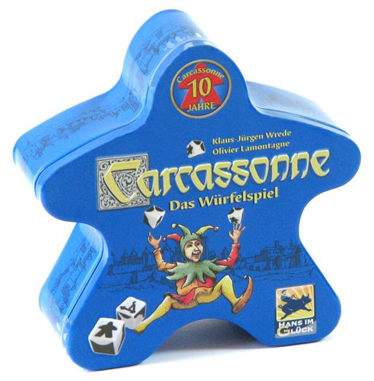 Carcassonne - gra kościana w metalowej puszce (ed.skandynawska)