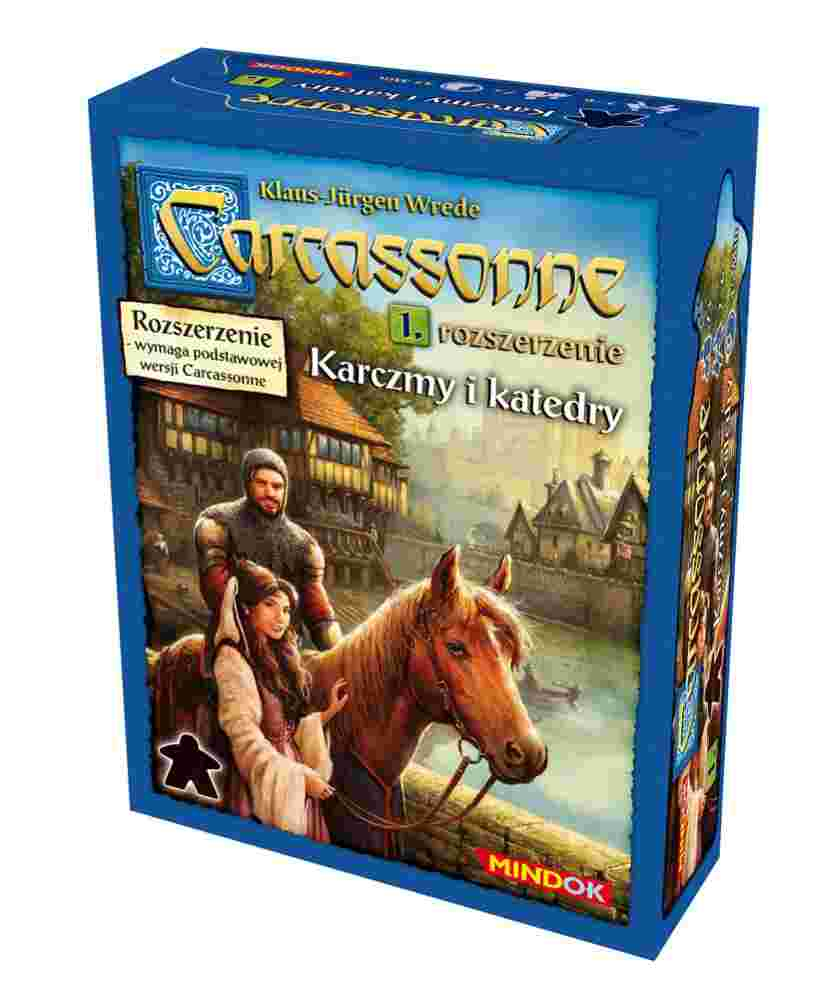 Carcassonne: Karczmy i Katedry (2 edycja)