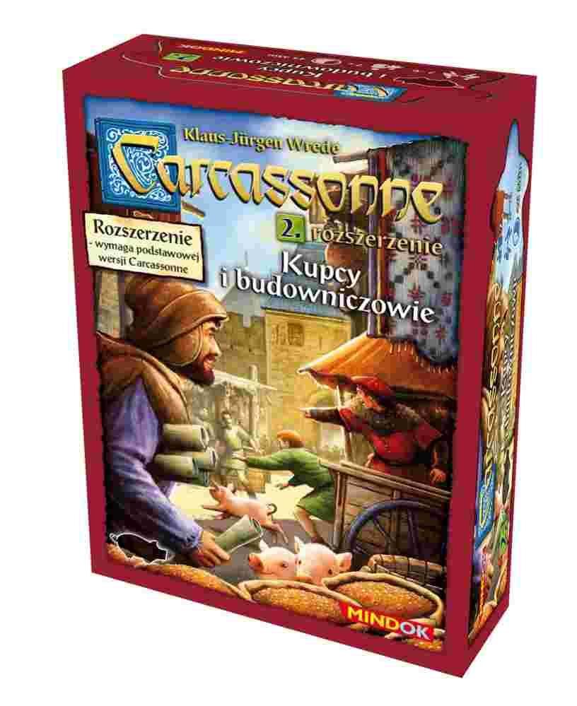 Carcassonne: Kupcy i Budowniczowie (2 edycja)