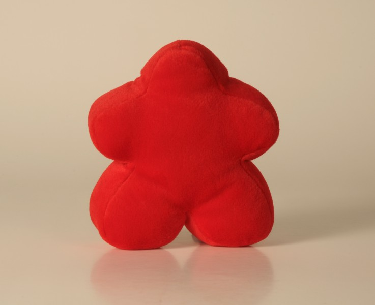 Carcassonne Mini Plush Meeple Red