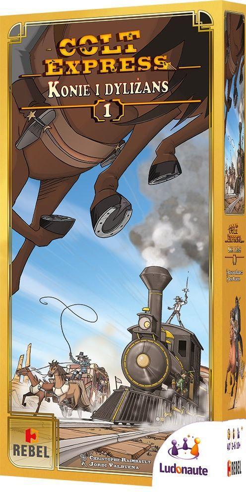 Colt Express: Konie i dyliżans