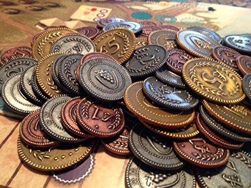 Viticulture - Custom Lira Coins