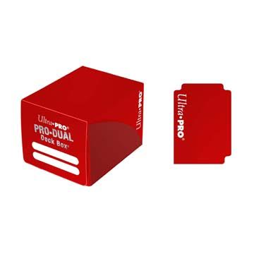Deck Box PRO DUAL Small - Red