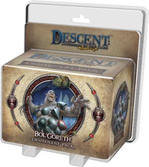 Descent: Bol Goreth Lieutenant Pack