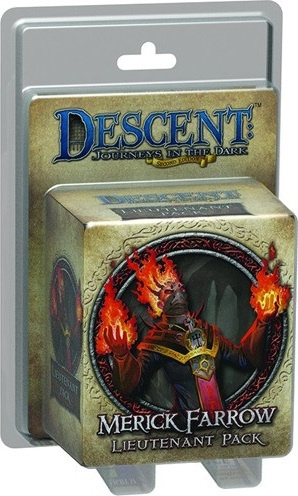 Descent: Merick Farrow Lieutenant Pack