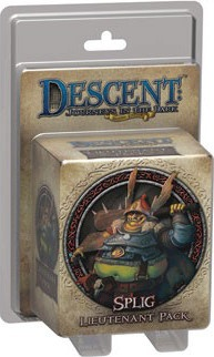 Descent: Splig Lieutenant Pack