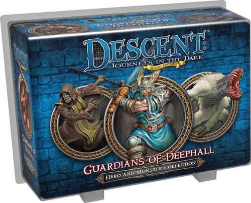 Descent Guardians of Deephall Hero and Monster Collection