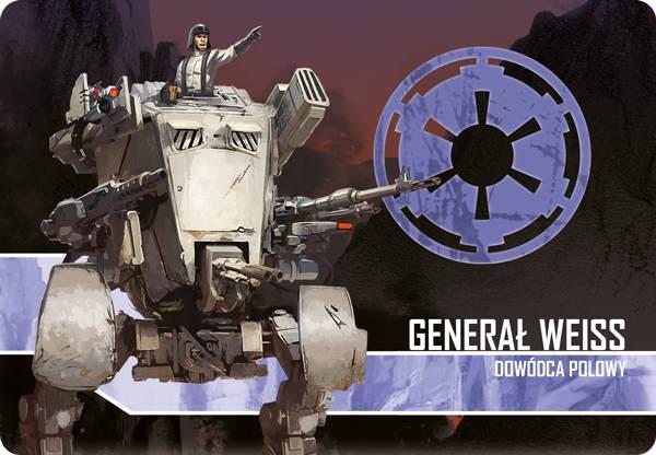 Star Wars: Imperium Atakuje  Generał Weiss