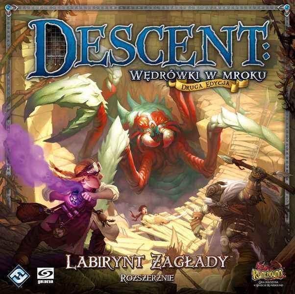 Descent: Wędrówki w mroku - Labirynt Zagłady