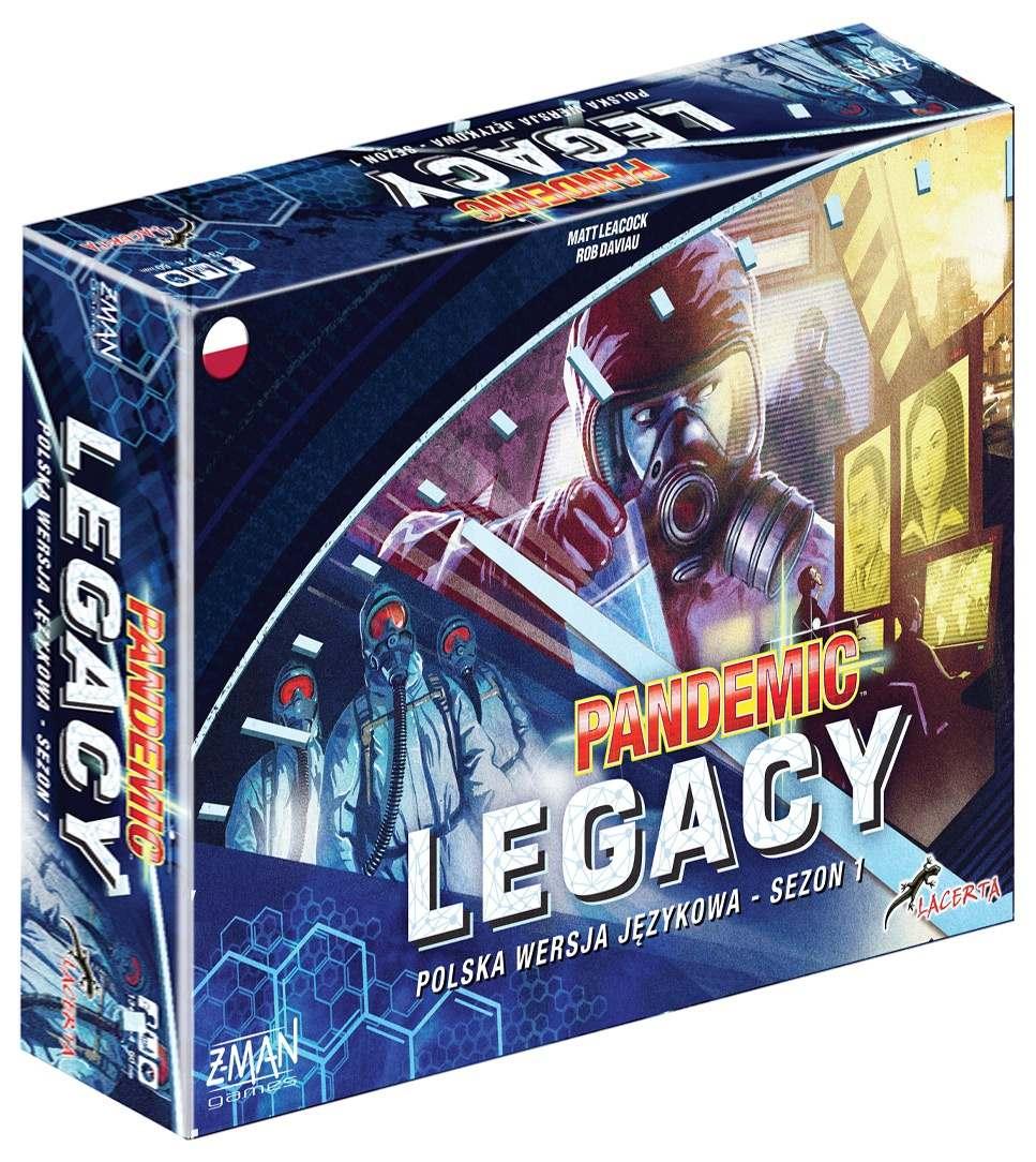 Pandemic Legacy (Pandemia): Edycja niebieska