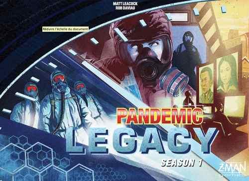 Pandemic Legacy: Season 1 (edycja angielska) niebieska