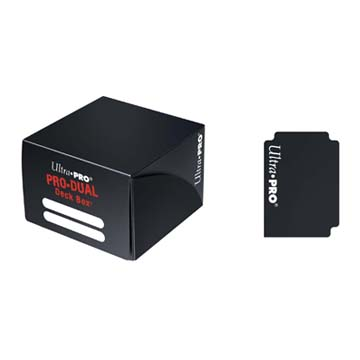 Deck Box PRO DUAL Standard - Black