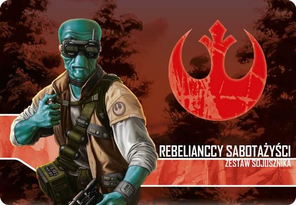 Star Wars: Imperium Atakuje  Rebelianccy Sabotażyści