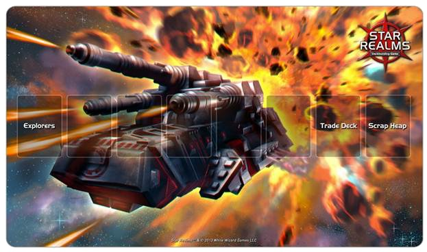 Star Realms Battle Mech - Play Mat