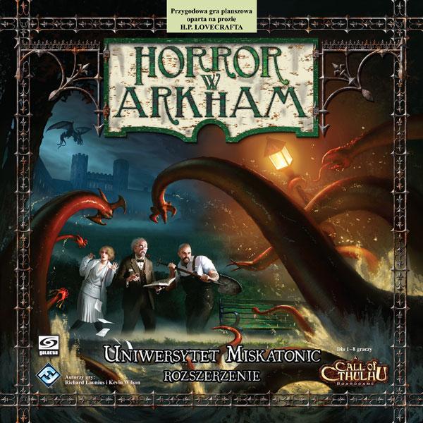 Horror w Arkham - Uniwersytet Miskatonic