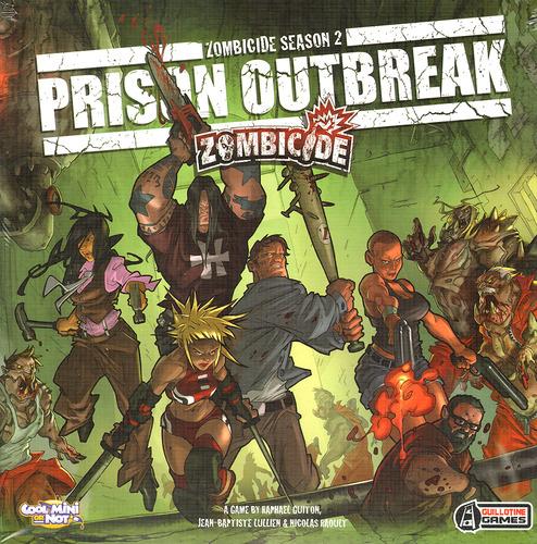 Zombicide Season 2 Prison Outbreak (edycja angielska)